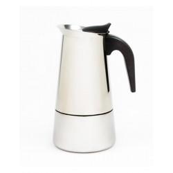 Cafetière moka Inox Induction 6 Tasses
